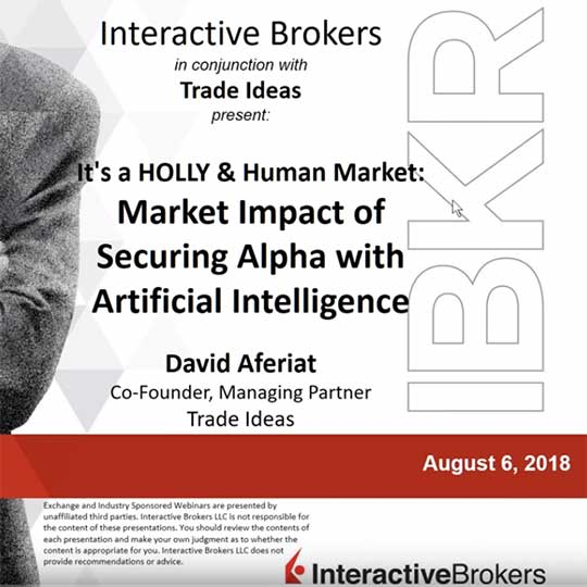Webinar: It's a HOLLY & Human Market Market Impact of Securing Alpha with Artificial Intelligence