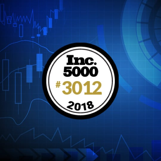 Trade Ideas LLC Ranks No. 3012 on the 2018 Inc. 5000 with Three-Year Sales Growth of 134%