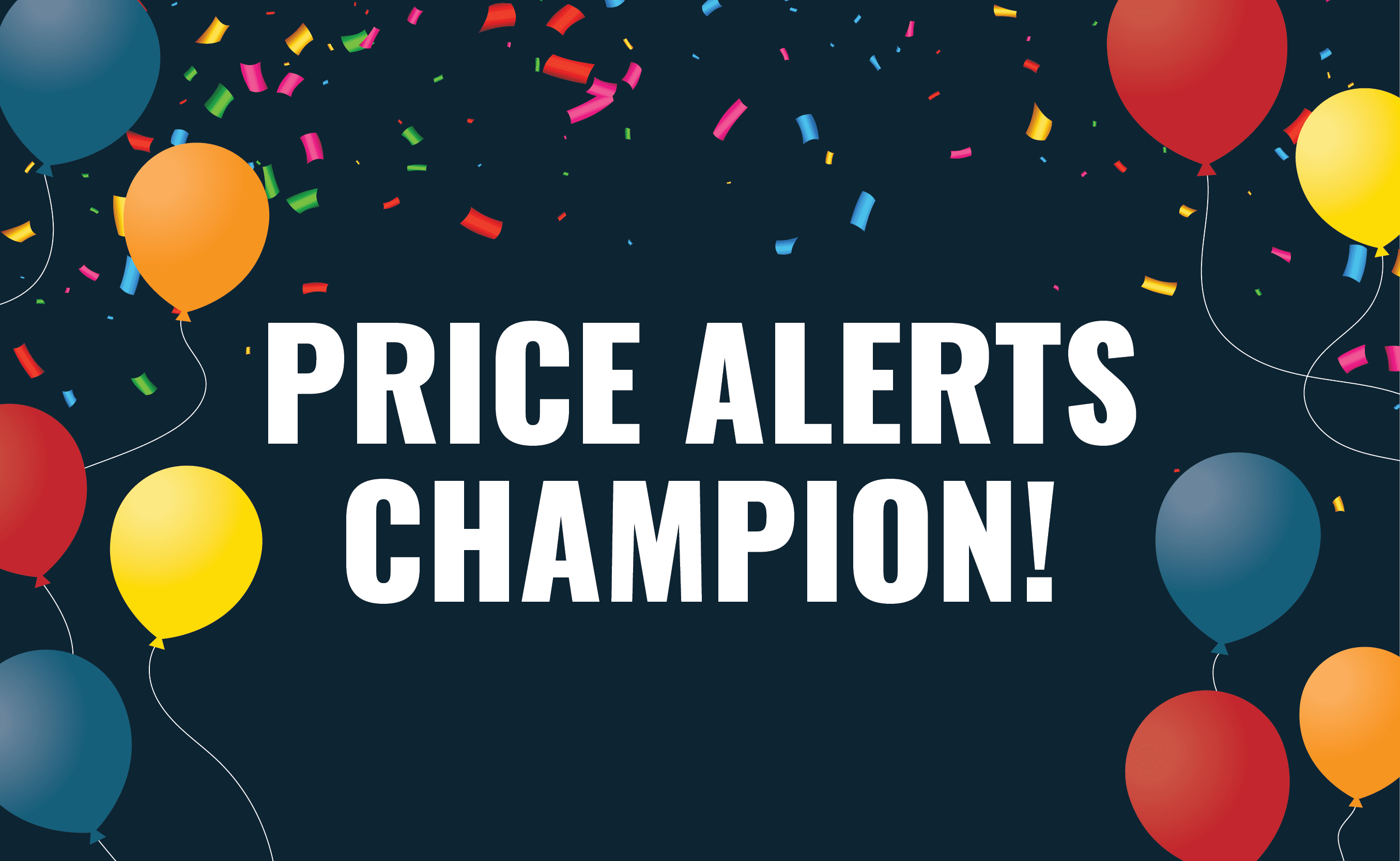 Announcing the February 2020 Test Drive Price Alerts Champs!